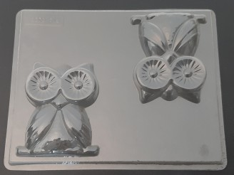 716 Large Owl Chocolate Candy Mold  LAST ONE!