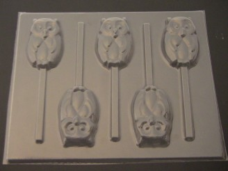 677 Owl Chocolate or Hard Candy Mold