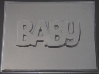 4216 BABY Cake Topper Chocolate Candy Mold