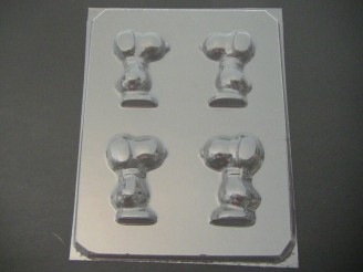104sp Pudgy Beagle Dog 3D Chocolate or Hard Candy Mold
