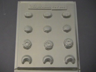 501 Assorted Shells Chocolate Candy Mold  LAST ONE!
