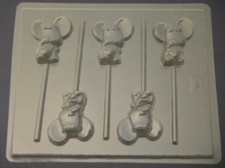570 Baby Mouse Chocolate Candy Mold  LAST ONE!