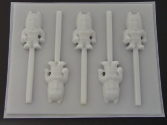 460sp Baby Capeman Hard Candy Lollipop Mold FACTORY SECOND