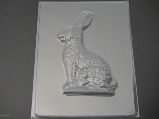 816 3D Bunny Rabbit Left Side Chocolate Candy Mold