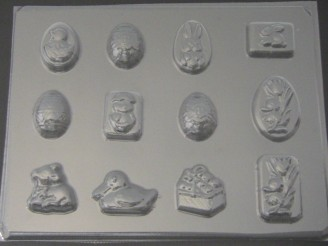 834 Easter Assorted II Chocolate Candy Mold