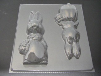 835 Mama Bunny Extra Large 10 Inch Tall Chocolate Mold