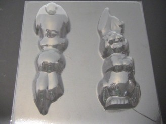 837 Boy Bunny Extra Large 10 Inch Tall Chocolate Mold
