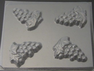 1500 Grape Cluster Chocolate or Hard Candy Mold