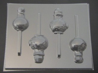 3552 Genie Bottle Chocolate or Hard Candy Lollipop Mold