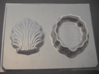 1712 Shell Pour Box Chocolate Candy Mold