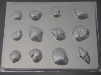 1713 Shells II Chocolate Candy Mold