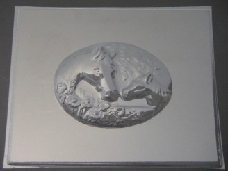2506 Horse Plaque Chocolate Candy Mold