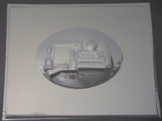 2507 Teacher Plaque Chocolate Candy Mold
