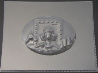 2508 Salon Plaque Chocolate Candy Mold