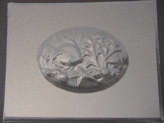 2512 Aquarium Plaque Chocolate Candy Mold