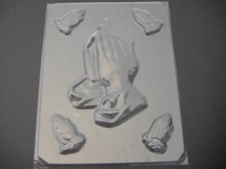 2020 Praying Hands Chocolate Mold