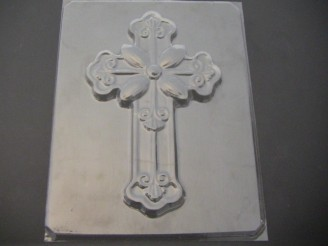 2050 Cross Large Chocolate or Hard Candy Mold
