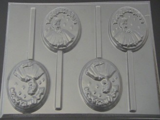 8503 Princess Sweet 15 Chocolate Candy Lollipop Mold