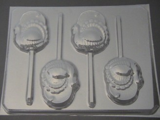 7030 Turkey Chocolate or Hard Candy Lollipop Mold