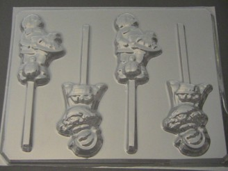 7050 Pilgrim Chocolate or Hard Candy Lollipop Mold