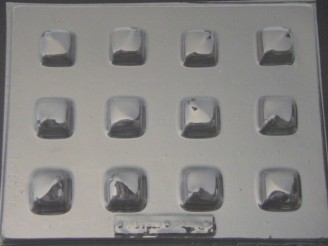 1200 Square Fillable Chocolate Candy Mold