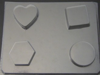 1224 Assorted Soap Chocolate Candy Mold