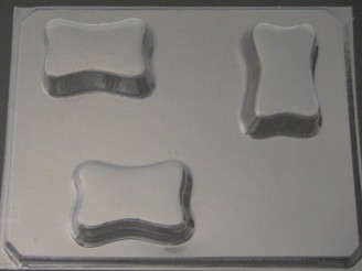 1225 Rectangle Soap Chocolate Candy Mold