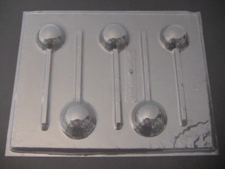 1217 1.5 Inch Round Chocolate Lollipop Mold