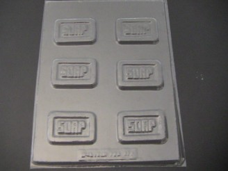 1222 Small Soap Chocolate Candy Mold