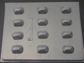 1201 Oblong Fillable Chocolate Hard Candy Candy Mold