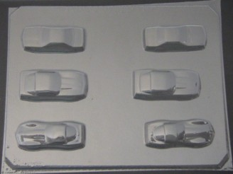 3005 Cars Chocolate or Hard Candy Mold