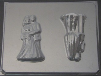 1010 Bride Groom Couple 3D Chocolate Candy Mold